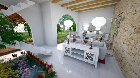 Dessin Living - Living room - by Isabella Enriquez Rayranht