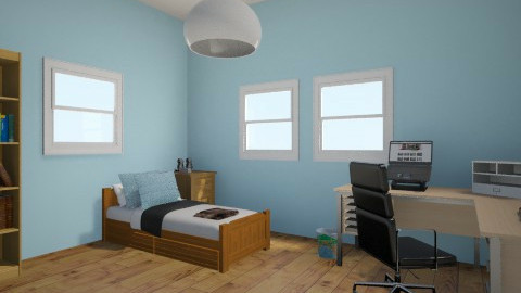 College dorm - by Jazmine Wilson