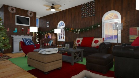 Cozy christmas - by AURORA SCOTT ALLEN