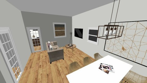 Home 1 - Living room - by Caumer