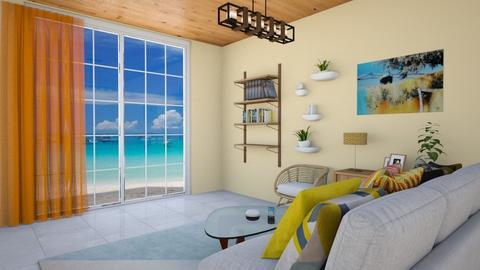 Beach View - Living room - by colorful_eye