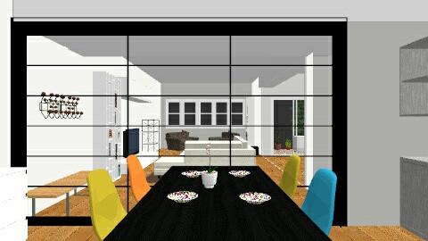 SALON PLANO madre - Living room - by parrastaka