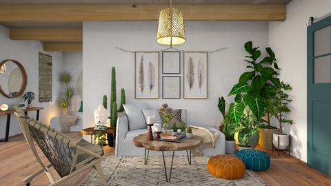 Bohemian - Living room - by JennieT8623