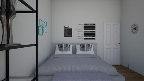 cecilia room - Modern - Bedroom - by ceciloli