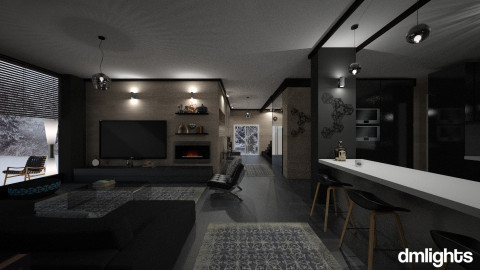 Grey - Living room - by DMLights-user-1009483