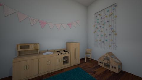 kids room 2 - Kids room - by hallefran