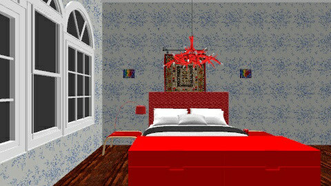 The bedroom Part_1 - Glamour - Bedroom - by Mr Midnight