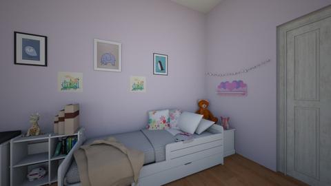 Client Design Barrett - Kids room - by SaraB415
