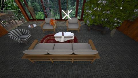 Birch  - Living room - by suelb