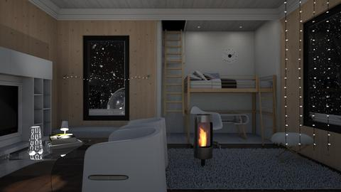 Winter Wood  - Modern - Bedroom - by RedPandaRooms