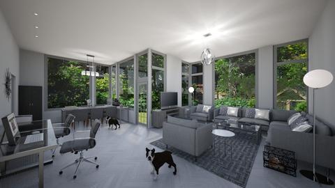 greydayz - Living room - by Phospective
