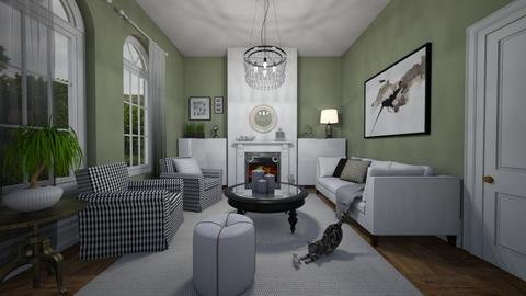Contemporary Victorian - Living room - by Tuitsi