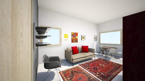 Olohuone 1.1 - Living room - by Essi_eames