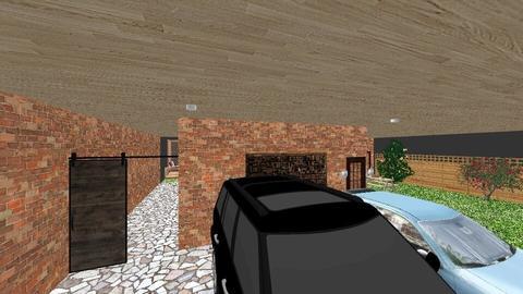 brick house 1st floor - Rustic - by dhita