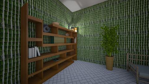 Bamboo Zen Room - Classic - by Tanya_24