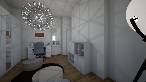 room - Bedroom - by Emilka Lipnicka