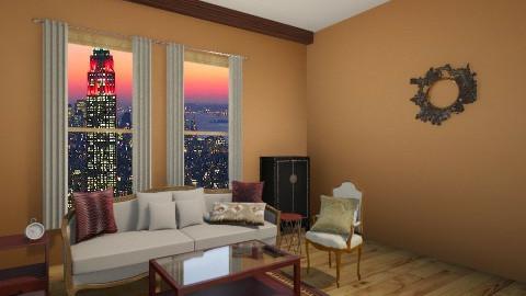 S P romm - Living room - by ruaa shan