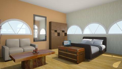 Hotelroom - Bedroom - by Tatjanaa Linsenn