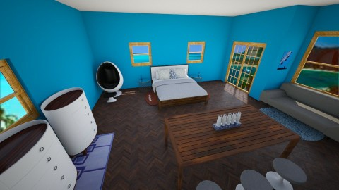Liams Room - Masculine - Bedroom - by gloucestergirl04