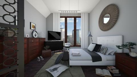 Loft Lifestyle - Modern - Bedroom - by Raquel Collison