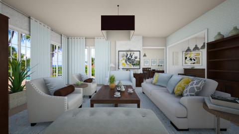 Cafe com leite - Rustic - Living room - by Lucii