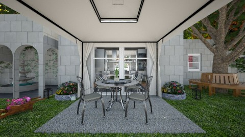 modern  garden - Modern - Garden - by  Georgos Giannitopoylos