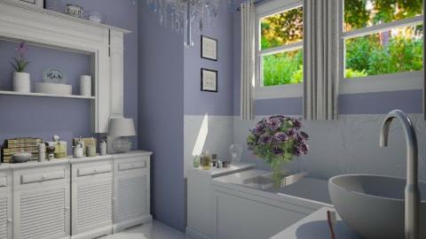 Seasoned Designers Bath - Bathroom - by lopperdoodle