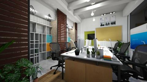 Long Office - by Gener Morales