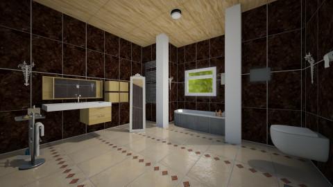 Forest bathroom - Classic - Bathroom - by loreta94