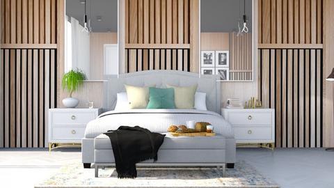 Mid Century Bedroom - Bedroom - by seth96