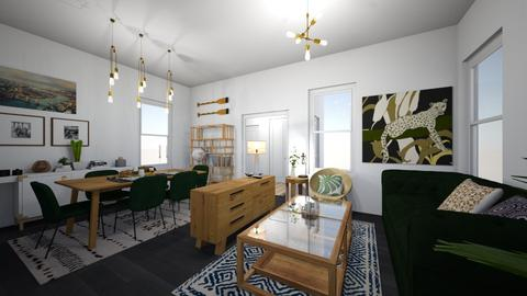 Amsterdam Living IV - Dining room - by reedj0218