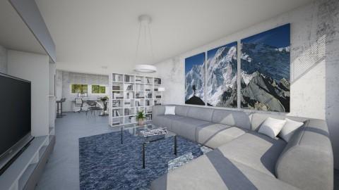For Boris Kulic I - Minimal - Living room - by Theadora