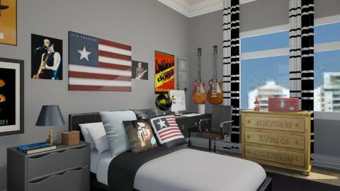 Quarto de rapaz - Bedroom - by SARAGOMES