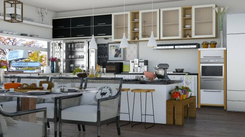 Avec Moi Kitchen - Kitchen - by ayudewi