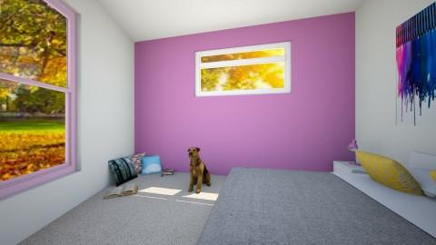 boutique bedroom - Retro - Bedroom - by pancat