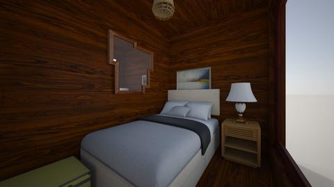 woody wood - Bedroom - by Brina Yunio