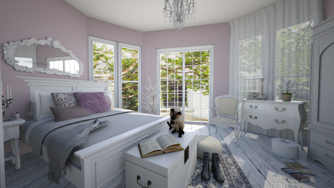 French Violet - Feminine - Bedroom - by R2krw09