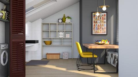 Studio Kitchen - Modern - Dining room - by Gurns