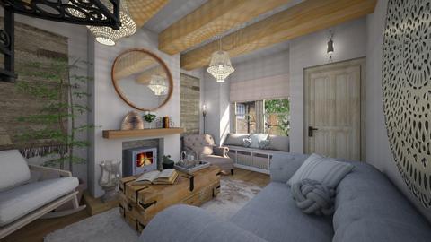 Cottage - Living room - by rachelalicebradley