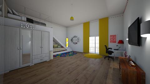 shekina manor bedroom3 - Bedroom - by bluedolphin12