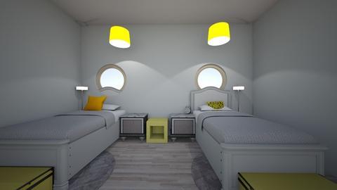 dorm room - Modern - Bedroom - by Ariesbabby
