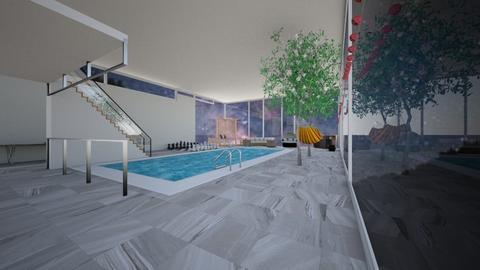 pool party - Modern - Garden - by ellie_cowenxx