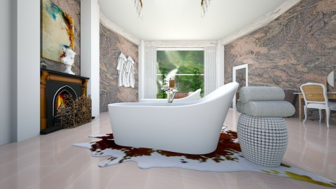 Marble 001 - Classic - Bathroom - by decordiva1