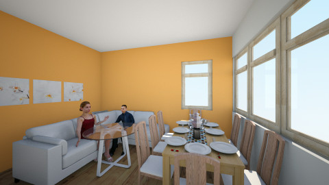 Living and Dining room - Modern - Living room - by magdalenamm