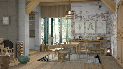 Fysis - Dining room - by sativah