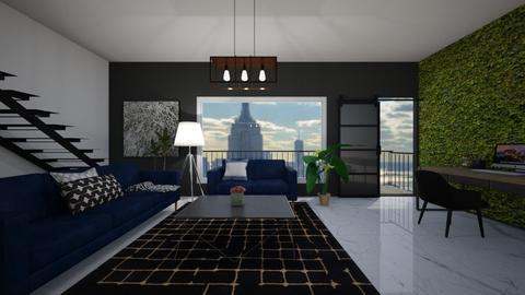 modern two story loft roo - Modern - Office - by IrmaPudzemyte