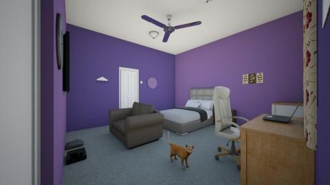 My Bedroom - Bedroom - by 22BrookOls