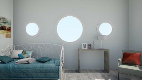 blue - Minimal - Living room - by LAS95