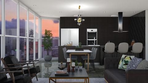 Beetle - Living room - by aletamahi