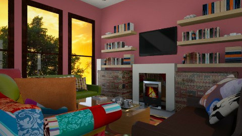 My living room - Vintage - Living room - by Caterina95